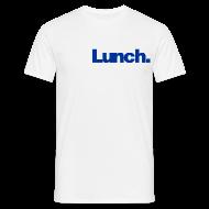 T-Shirts ~ Men's T-Shirt ~ Lunch (blue)
