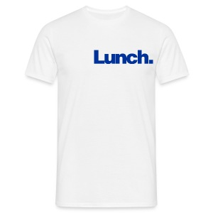 Lunch (blue) - Men's T-Shirt