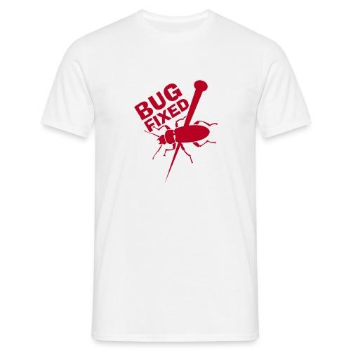 Bug Fixed (weiß) - Männer T-Shirt