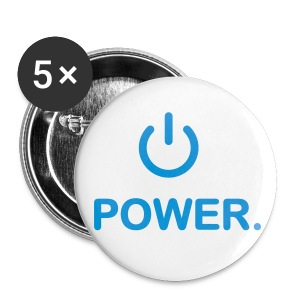 Power mad - Buttons large 56 mm