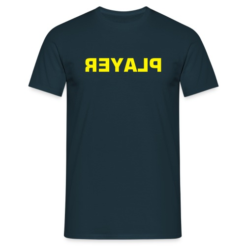 PLAYER (reversed) - Men's T-Shirt