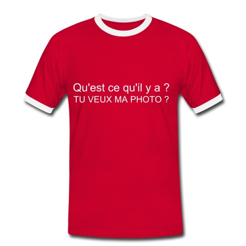Photo - T-shirt contrasté Homme