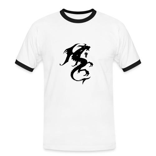 dragon - T-shirt contrasté Homme