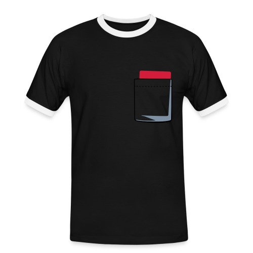 Red Card - Men's Ringer Shirt