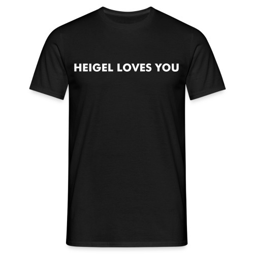 Heigel Loves You Black Tee - Men's T-Shirt