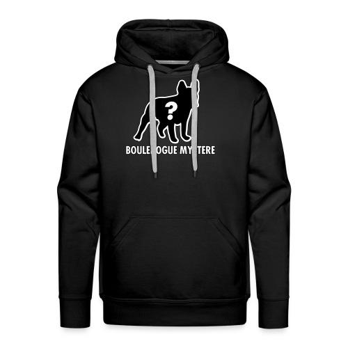 Bouledogue Mystère - Sweat-shirt à capuche Premium pour hommes