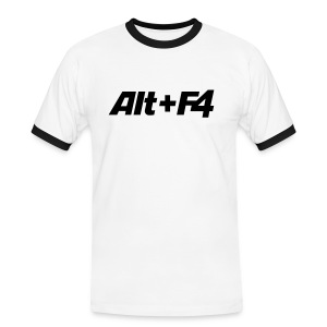 ALT+F4 - Men's Ringer Shirt
