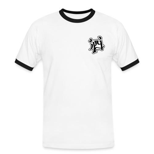 Slim Fit T-Shirt - Chinese Charactor - Men's Ringer Shirt