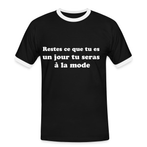 tshirt special mama - T-shirt contrasté Homme
