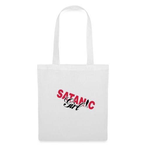 Satanic Girl Bag - Tote Bag