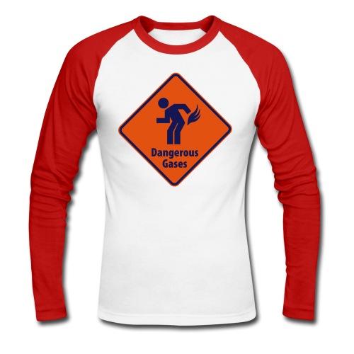 Dangerous - Men's Long Sleeve Baseball T-Shirt
