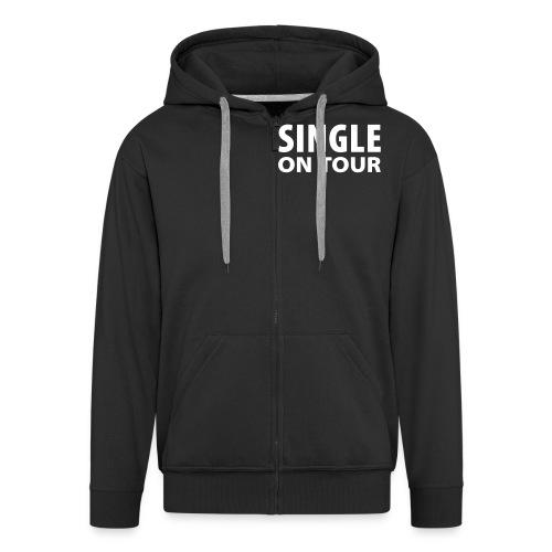 Single on Tour - Men's Premium Hooded Jacket