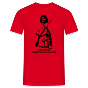 Frank's Realm red T-shirt -both sides printed! - Men's T-Shirt