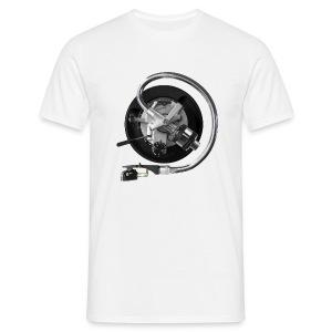 SL1200 arm on white Comfort-T - Mannen T-shirt