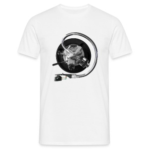 SL1200 arm on white Comfort-T - Mannen T-shirt