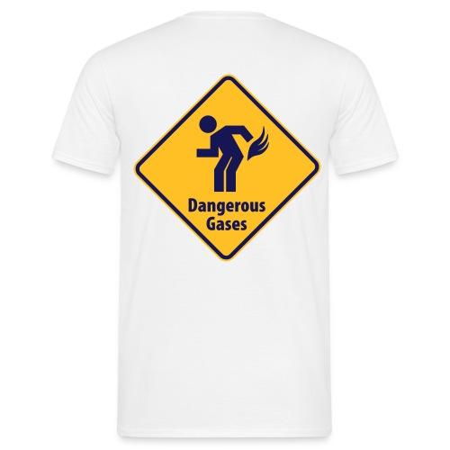 dangerous gas - T-shirt Homme
