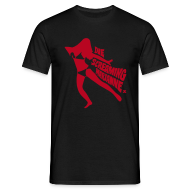 T-Shirts ~ Men's T-Shirt ~ Die Screaming Marianne black and red tee