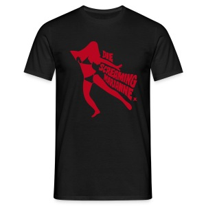 Die Screaming Marianne black and red tee - Men's T-Shirt