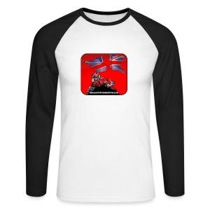 BHF logo baseball top - Men's Long Sleeve Baseball T-Shirt