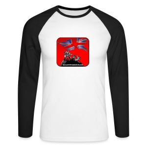 BHF logo baseball top - Men's Long Sleeve Baseball T-Shirt