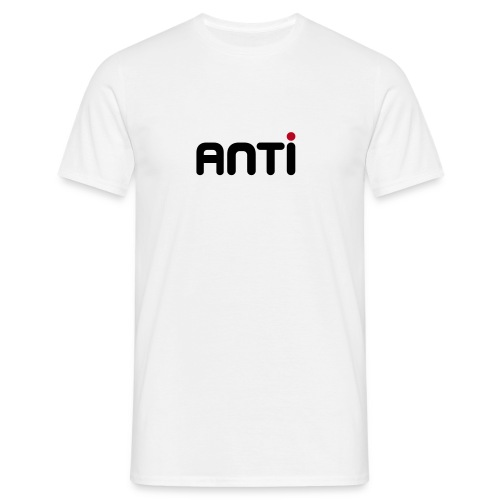 ANTI White Shirt - Mannen T-shirt