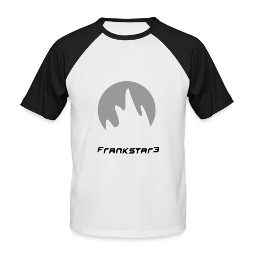 Frankstar beat - Men's Baseball T-Shirt
