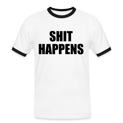 Shit Happens - Men's Ringer Shirt