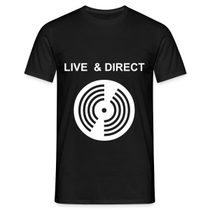 Live and direct t-shirts - Men's T-Shirt