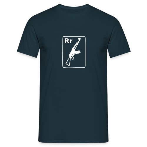 R is for Rifle - Men's T-Shirt