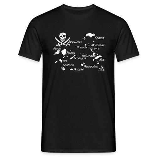 piraten shirt dodekanes - Männer T-Shirt