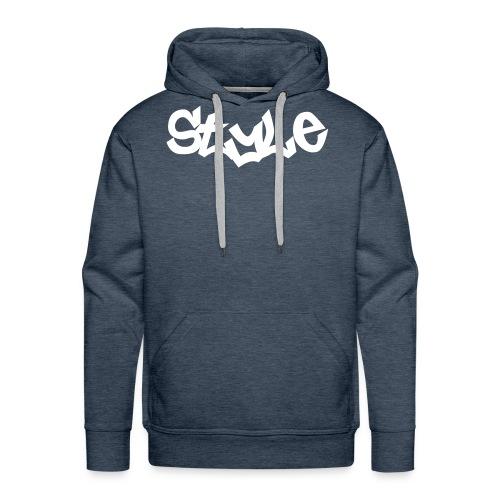 Style - Sweat-shirt à capuche Premium pour hommes