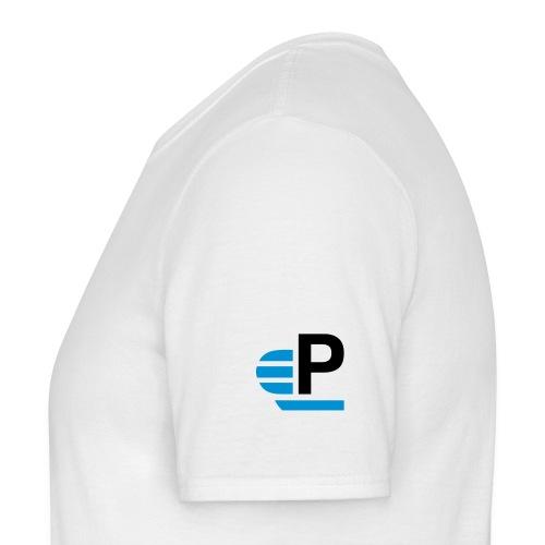 Shirt mit Logo auf dem Arm (freie Gest.) - Männer T-Shirt