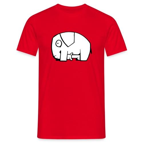 Unanständiger Elefant - Männer T-Shirt