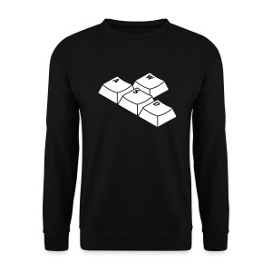 GAMES // keyboard // 1 couleur// Recto - Sweat-shirt Homme