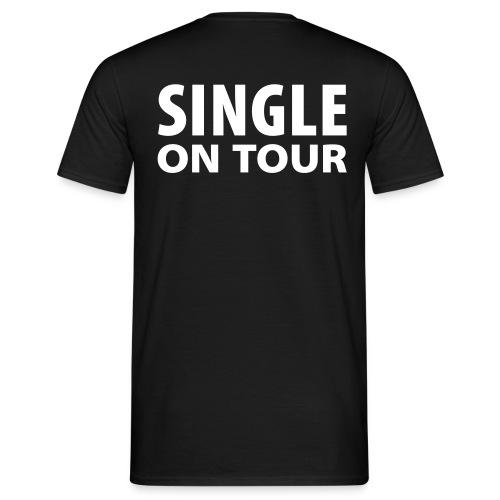 Singel On Tour - Mannen T-shirt