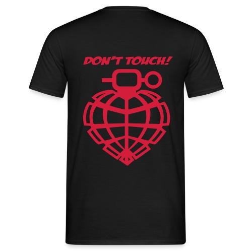 Don't Touch + Grenade - Mannen T-shirt