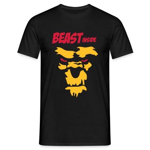 Beast Inside - Mannen T-shirt