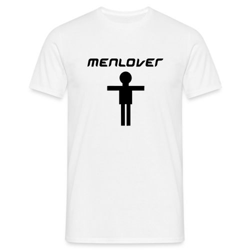 Men Lover White - Men's T-Shirt