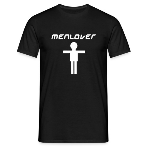 Men Lover Black - Men's T-Shirt