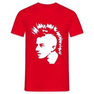 punkface (red) - Men's T-Shirt