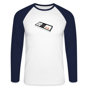 Nintendo - Men's Long Sleeve Baseball T-Shirt