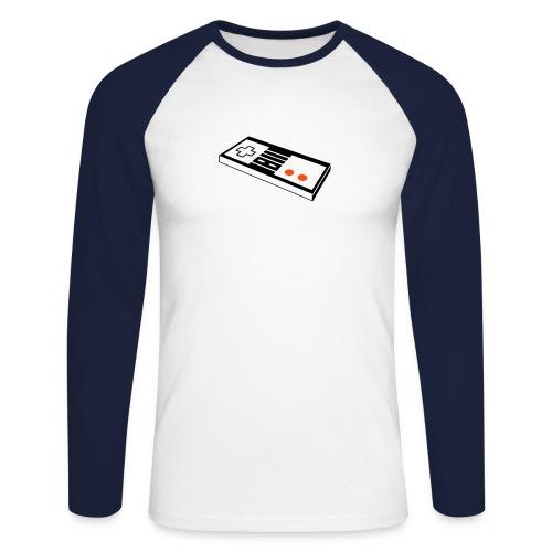 Nintendo - Men's Long Sleeve Baseball T-Shirt