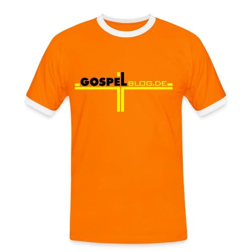 Gospelszene.de / GospelBlog.de - Männer Kontrast-T-Shirt