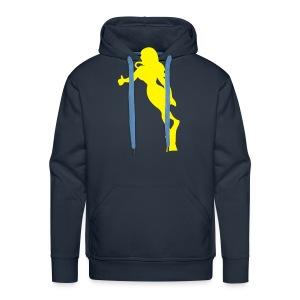 female diver - Männer Premium Hoodie