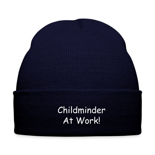 Childminder at Work! Woolly Hat - Winter Hat