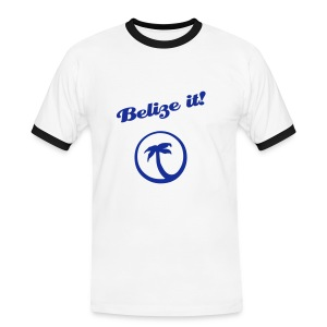 Belize it! - Mens - Men's Ringer Shirt