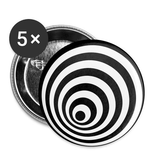 focchapa - Paquete de 5 chapas pequeñas (25 mm)