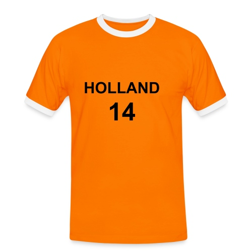 holland - T-shirt contrasté Homme