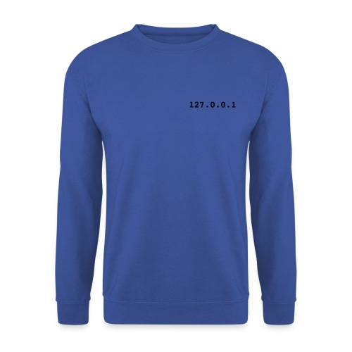 127.0.0.1, Sweatshirt, wit. - Mannen sweater