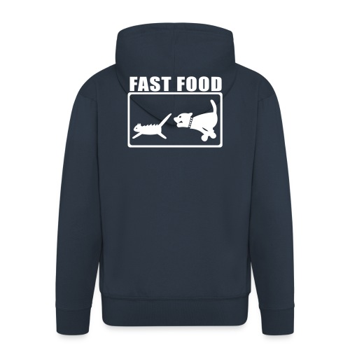 fastfood - Veste à capuche Premium Homme